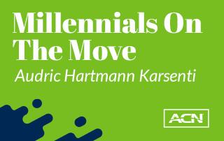 #MillennialsOnTheMove: Audric Hartmann Karsenti